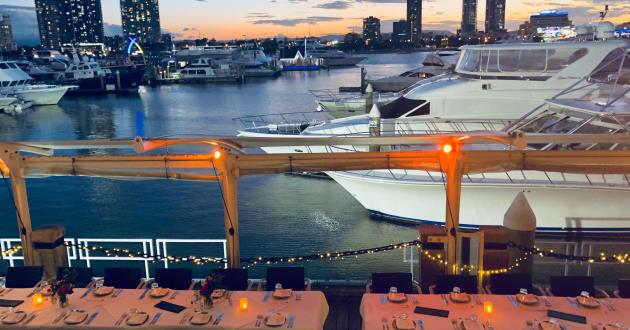 Waterfront Dining Deck