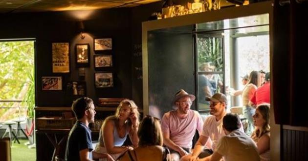 Lounge and Inside Bar Area