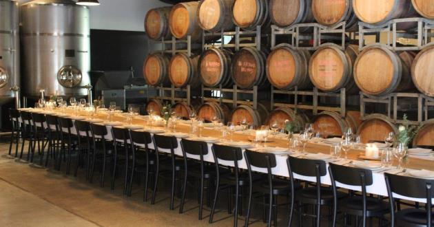Winery Barrel Space - Non - Exclusive Hire