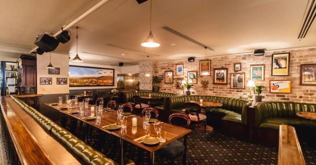 Parisian Cocktail Lounge within Kittyhawk