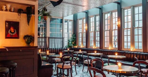 Parisian Styled Cocktail Bar, Entire Venue