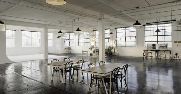 Warehouse Creative Blank Space