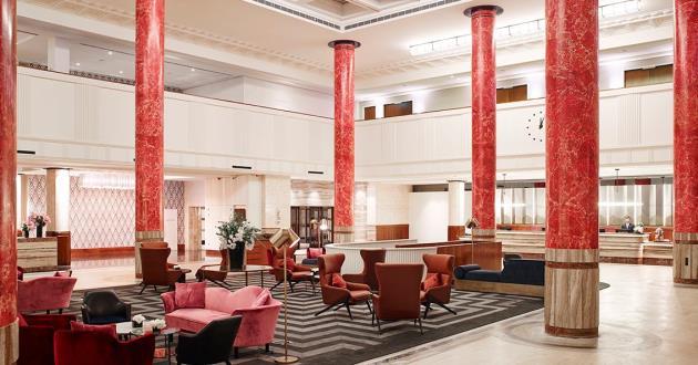 The Grand Lobby Area