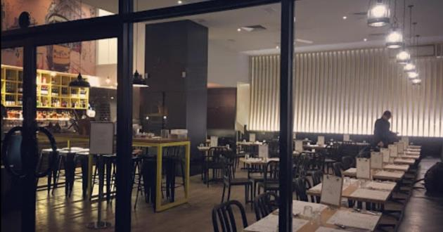 Modern Australian and Asian Cafe, Bar and Restaurant.