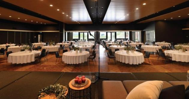 Exquisite Hardwood Floored Large Event Space