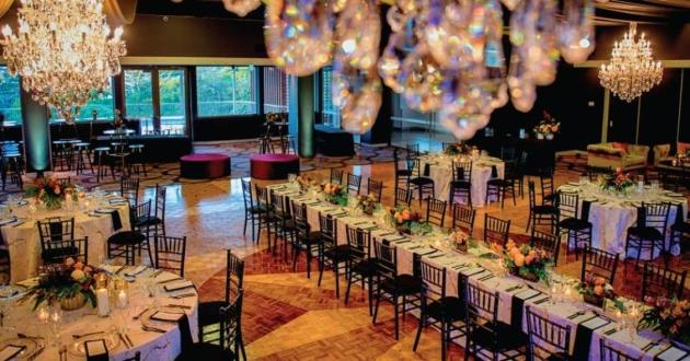 Exquisite Harwood Floored Mid Sized Event Space
