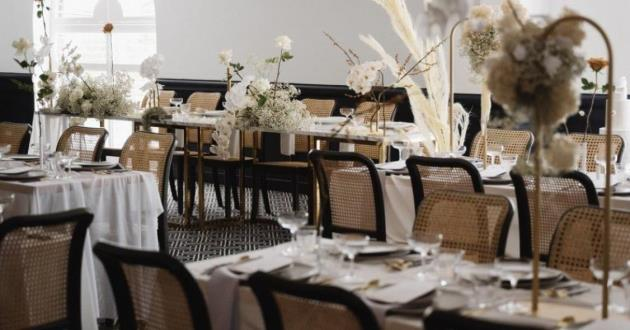 Light Filled Mid Sized Event Space with Private Bar