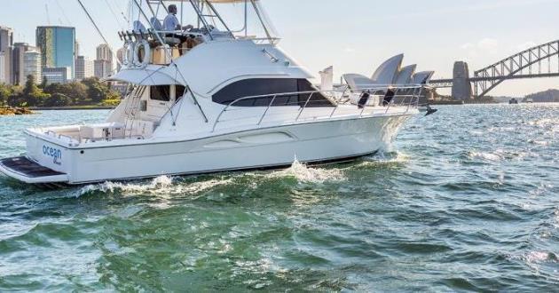 Sydney Harbours The Luxury Ocean Blue Vessel
