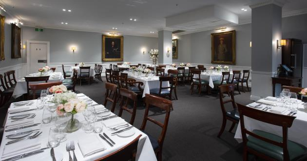 The Dining Room at The Royal Exchange