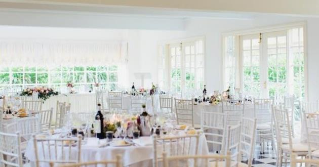 Main Room of a Cape Code Style Mansion Perfect for Weddings
