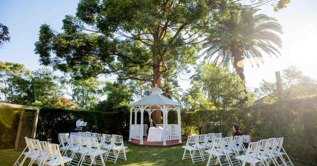 Cropley House - Ceremony Garden