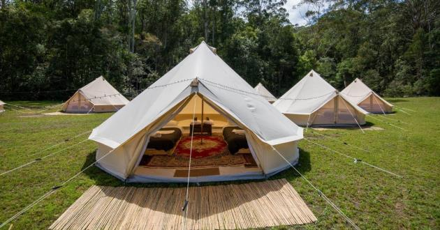 The Mill Paddock for Ultimate Glamping Experince
