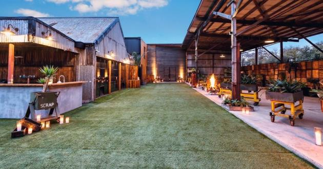 Industrial Converted Warehouse and Lawn