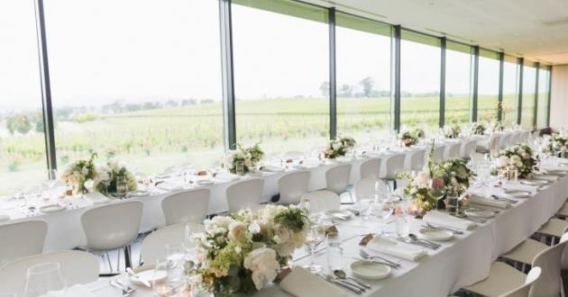 Large Function Room with Panoramic Vineyard View