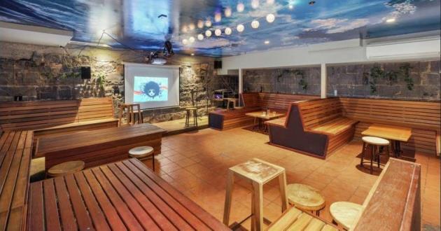 Lively Basement Karaoke Bar