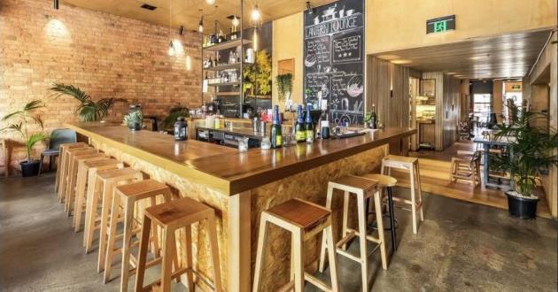 Modern Rustic Interior Acoustic Bar
