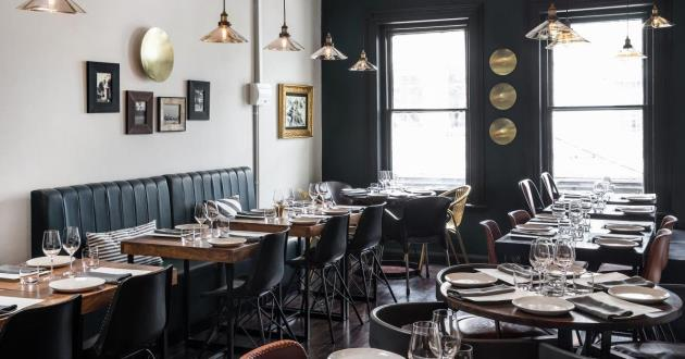 Upstairs Venue Serving Contemporary Indian Dishes