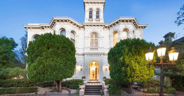 The Victorian Italianate mansion