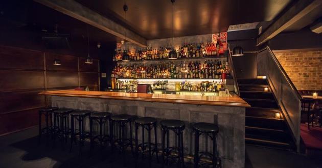 Underground Hip Hop Inspired Cocktail Bar