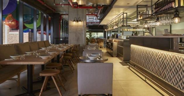 Sensible Mezzanine Dining Space