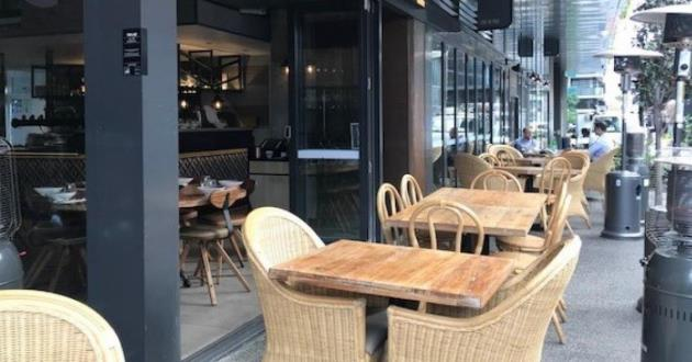 Outdoor Fish Lane Dining for Casual Events.