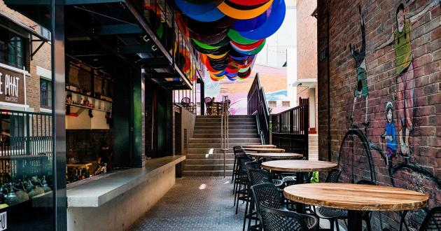 A Vibrant and Contemporary Restaurant and Bar Full Venue Use