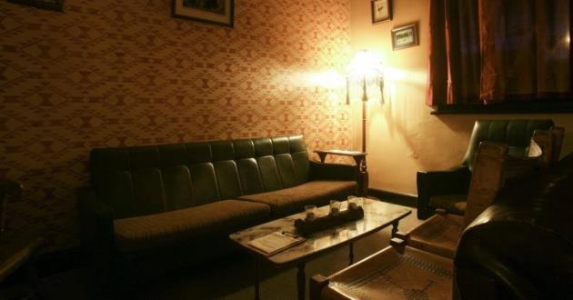 Upstairs - Couches and Dining Room