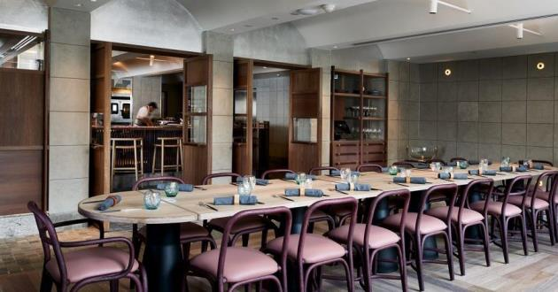 12-Micron Private Dining Room