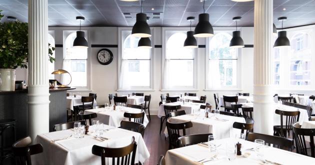 Versatile Minimalist Restaurant Space