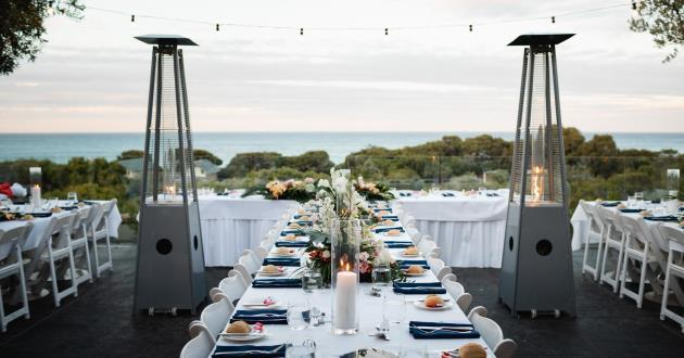 Restaurant Terrace with Ocean Views