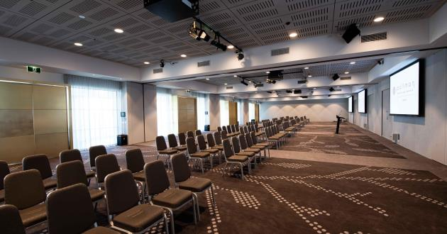 Ballroom with City and Adelaide Hills Views