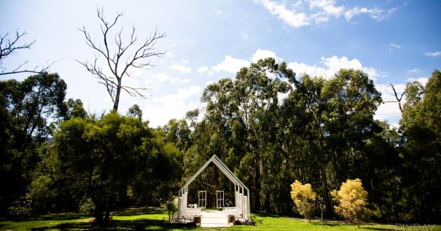 Gorgeous Outdoor Event Space; Open Air @ Yarra Valley Estate