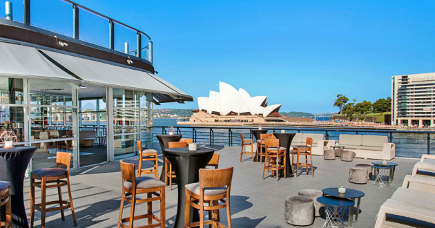 Rooftop with Panoramic Views Of The Sydney Opera House