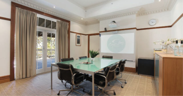 Light Filled Boardroom With Views Of Coogee Beach