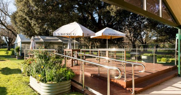 Marquee, Deck and Bar