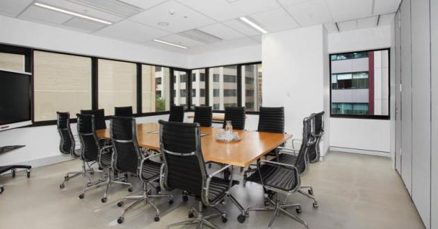 12-14 People Meeting Room in CBD (Midnight)