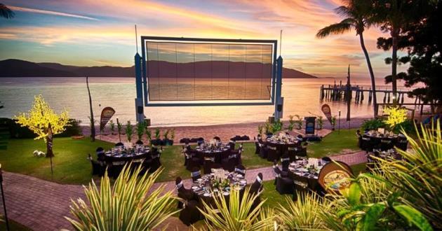 Open Air Cinema Lawn
