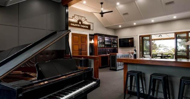Piano and Sports Lounge @ Kalinya Estate