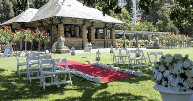 Rose Garden & Pavilion