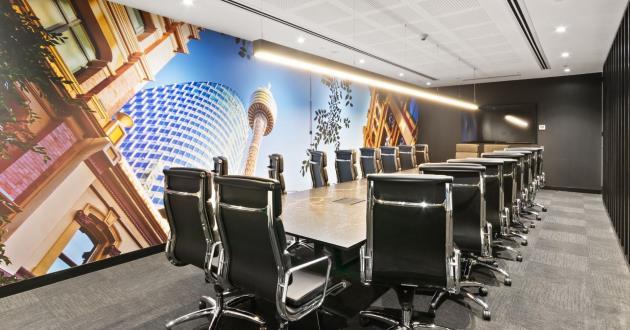 Valentino | 20 Person Boardroom at 85 Castlereagh