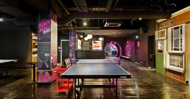 Ping Pong Precinct
