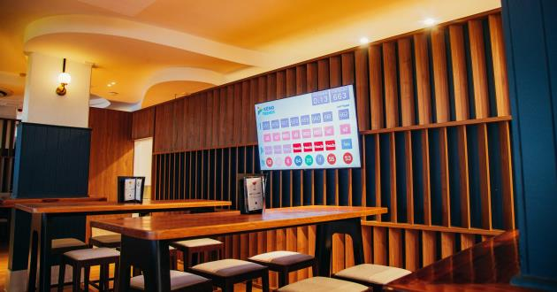 VIP Bar Area - The Cavill Hotel