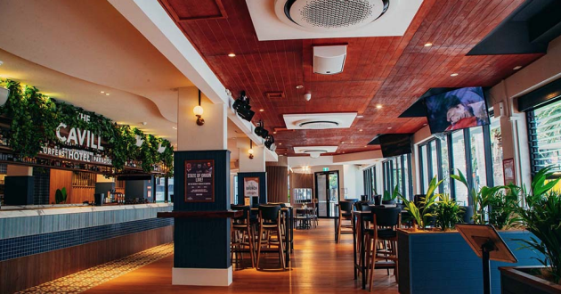 High Bar Area - The Cavill Hotel