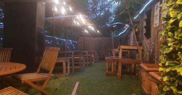 Rear Courtyard / Beer Garden