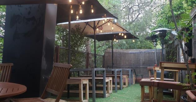 Back Room and Beer Garden