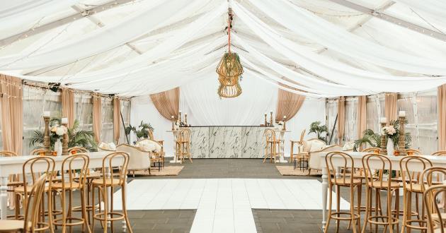 Bridge Marquee - Weddings