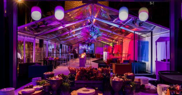 Bridge Marquee - Corporate Events & Cocktail Receptions