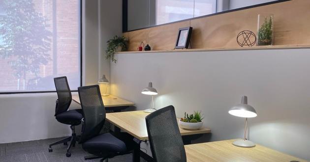 Cairo 3 Desk Casual Office  - 3 Person - Fitzroy