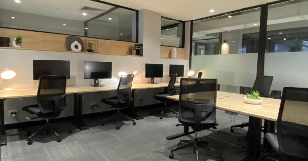 Istanbul Casual Office with 8 Desks- Fitzroy