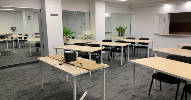 Lower Level Training Room at Pirie St - 12 Pax